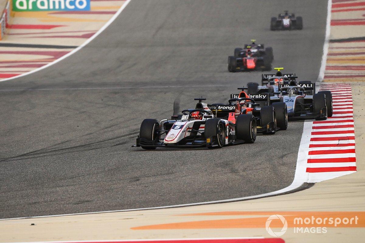Marcus Armstrong, ART Grand Prix, Giuliano Alesi, MP Motorsport, Nikita Mazepin, Hitech Grand Prix