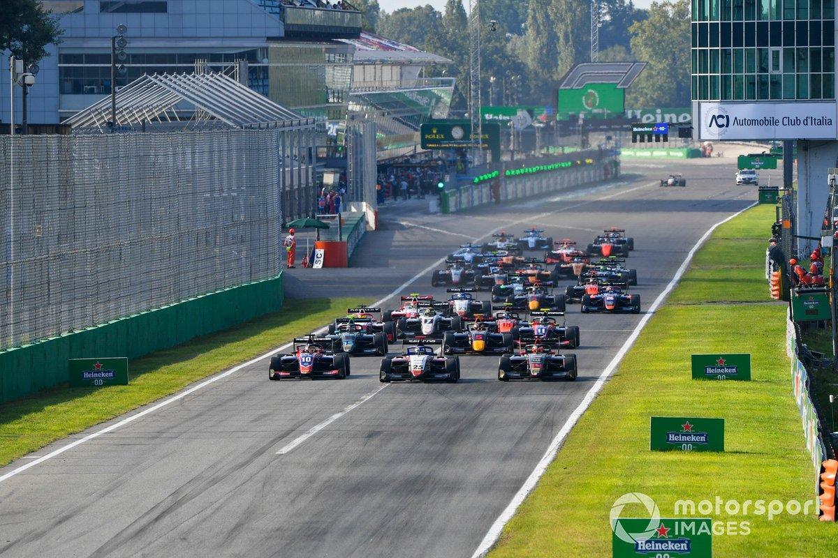 El inicio de la carrera