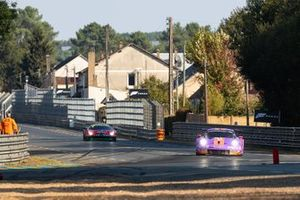 #57 Team Project 1 - Porsche 911 RSR: Ben Keating, Felipe Fraga, Jeroen Bleekemole