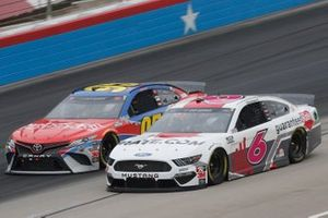Ryan Newman, Roush Fenway Racing, Ford Mustang Guaranteed Rate Christopher Bell, Leavine Family Racing, Toyota Camry Procore