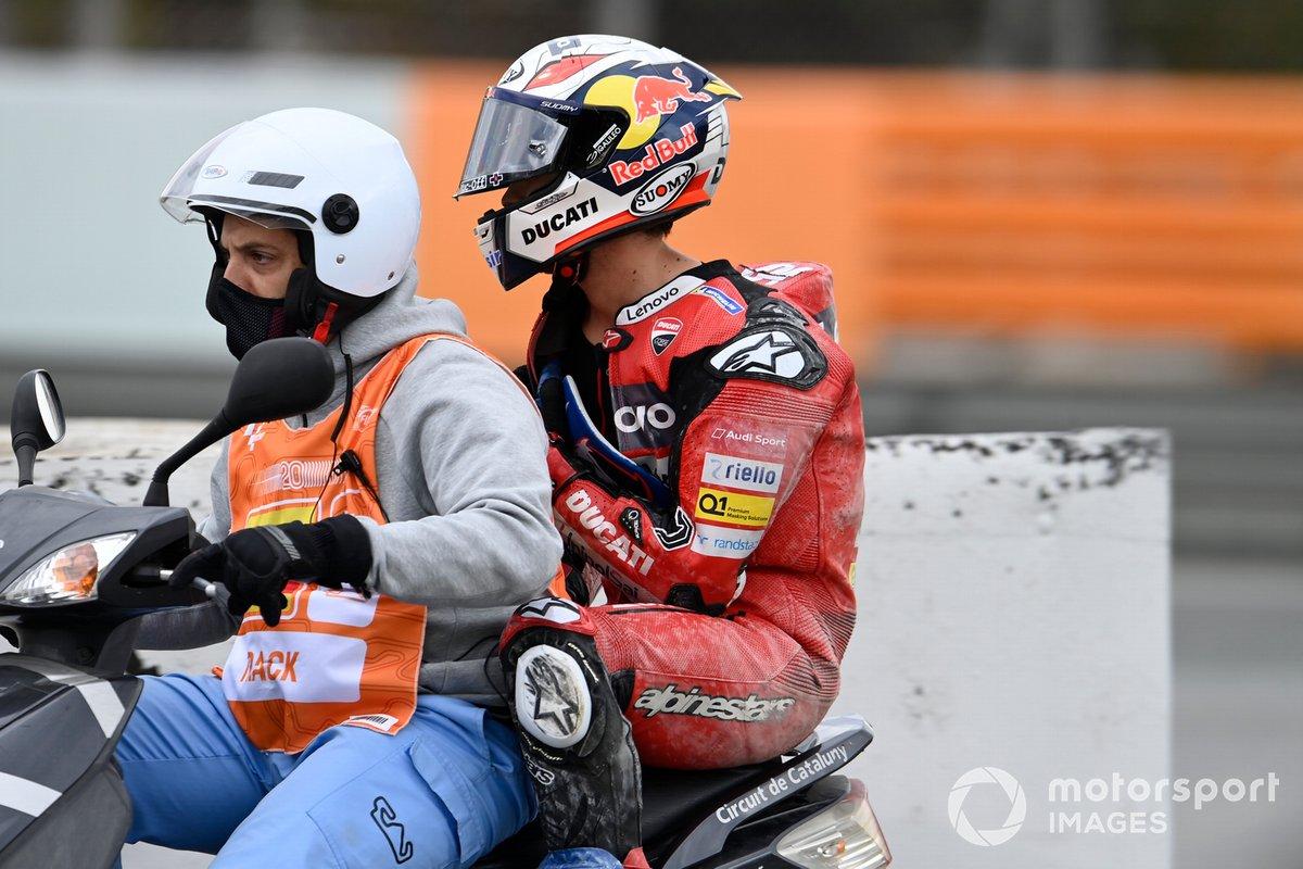 Caduta di Andrea Dovizioso, Ducati Team