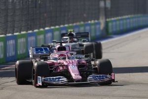 Sergio Perez, Racing Point RP20 Pierre Gasly, AlphaTauri AT01
