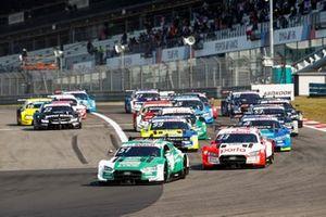 Start action, Nico Müller, Audi Sport Team Abt Sportsline leads