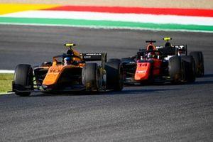 Guilherme Samaia, Campos Racing, leads Nobuharu Matsushita, MP Motorsport