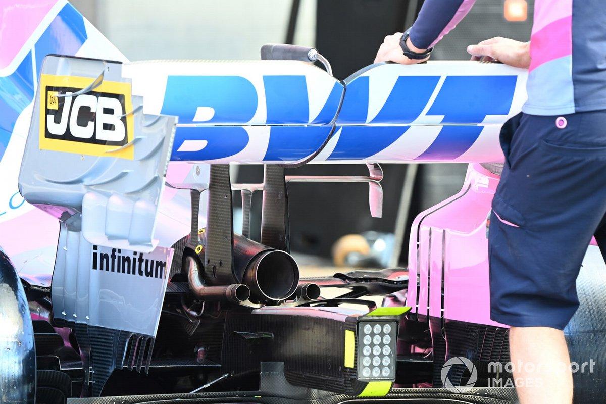 Detalles del Racing Point