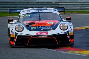#56 Dinamic Motorsport Porsche 911 GT3-R: Andrea Rizzoli Adrien de Leener, Mikkel O. Pedersen, Cedric Sbirrazzuoli