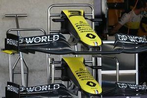 Renault F1 Team R.S.20 front wings detail