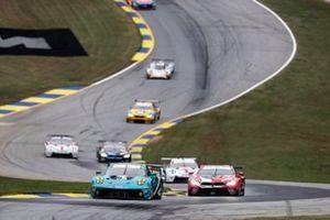 #16 Wright Motorsports Porsche 911 GT3 R, GTD: Ryan Hardwick, Patrick Long, Jan Heylen, #25 BMW Team RLL BMW M8 GTE, GTLM: Connor De Phillippi, Bruno Spengler, Colton Herta