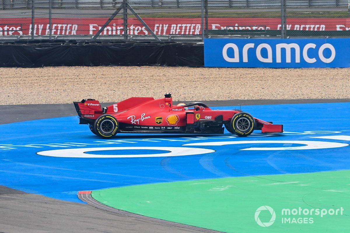 Testacoda di Sebastian Vettel, Ferrari SF1000