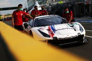 #63 Weathertech Racing Ferrari 488 GTE Evo: Cooper Macneil, Toni Vilander, Jeff Segal