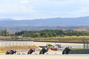 Jonathan Rea, Kawasaki Racing Team, Alex Lowes, Kawasaki Racing Team, Scott Redding, Arubait Racing Ducati