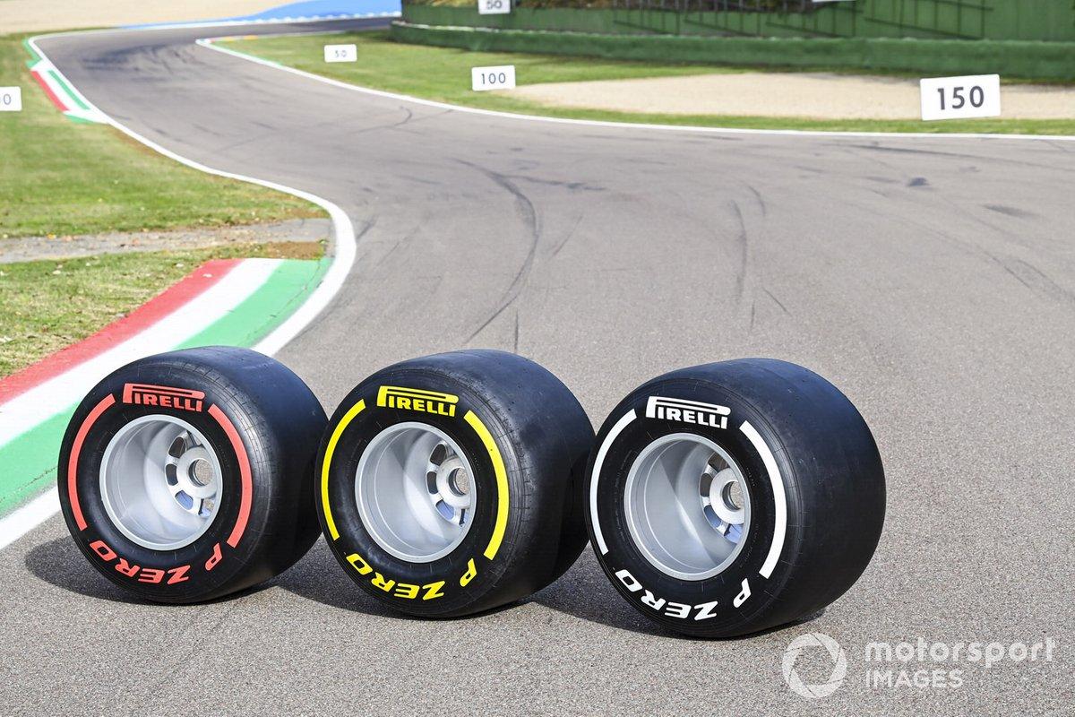 Le gomme Pirelli selezionate per il weekend