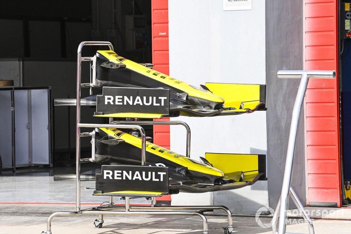Alerones del Renault F1 Team R.S.20