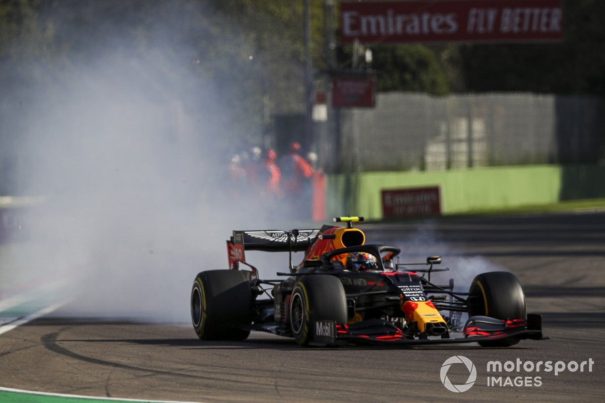 Alex Albon, Red Bull Racing RB16