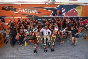 Tom Vialle y Jorge Prado, KTM Factory Racing