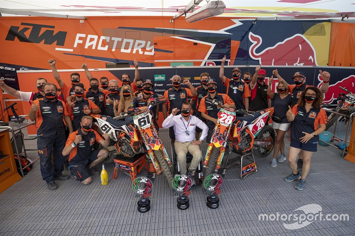 Tom Vialle y Jorge Prado, KTM Factory Racing