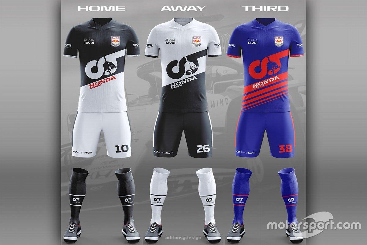 AlphaTauri football team kit