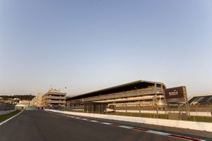 Main grandstand and track