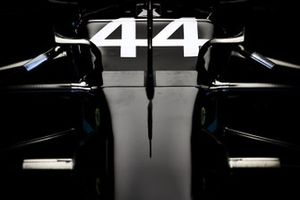 Nose of Lewis Hamilton, Mercedes F1 W11