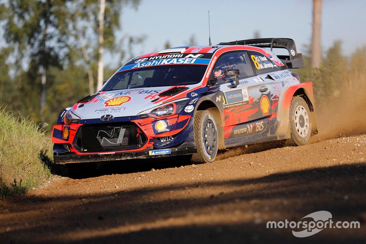 Ott Tänak, Martin Jarveoja, Hyundai i20 Coupe WRC