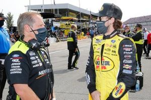Ryan Blaney, Team Penske, mit Todd Gordon
