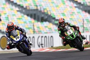 Loris Baz, Ten Kate Racing Yamaha dépasse Jonathan Rea, Kawasaki Racing Team