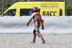 Stefan Bradl, Repsol Honda Team crash