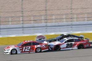#12: Ryan Blaney, Team Penske, Ford Mustang DEX Imaging #20: Erik Jones, Joe Gibbs Racing, Toyota Camry Today's The Day