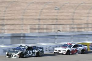 Ty Dillon, Germain Racing, Chevrolet Camaro GEICO Military, Ryan Newman, Roush Fenway Racing, Ford Mustang Guaranteed Rate
