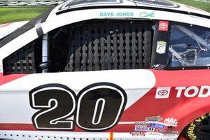 #20: Erik Jones, Joe Gibbs Racing, Toyota Camry Today's The Day