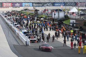 Ford Pace Car, Brett Moffitt, GMS Racing, Chevrolet Silverado Arlon