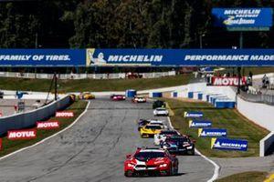 #25 BMW Team RLL BMW M8 GTE, GTLM: Connor De Phillippi, Bruno Spengler, Colton Herta, #24 BMW Team RLL BMW M8 GTE, GTLM: John Edwards, Jesse Krohn, Augusto Farfus