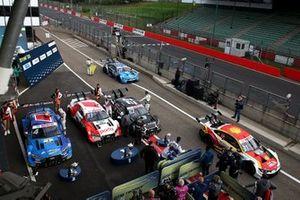 Race winner René Rast, Audi Sport Team Rosberg, Robin Frijns, Audi Sport Team Abt Sportsline, Ferdinand Habsburg, Audi Sport Team WRT