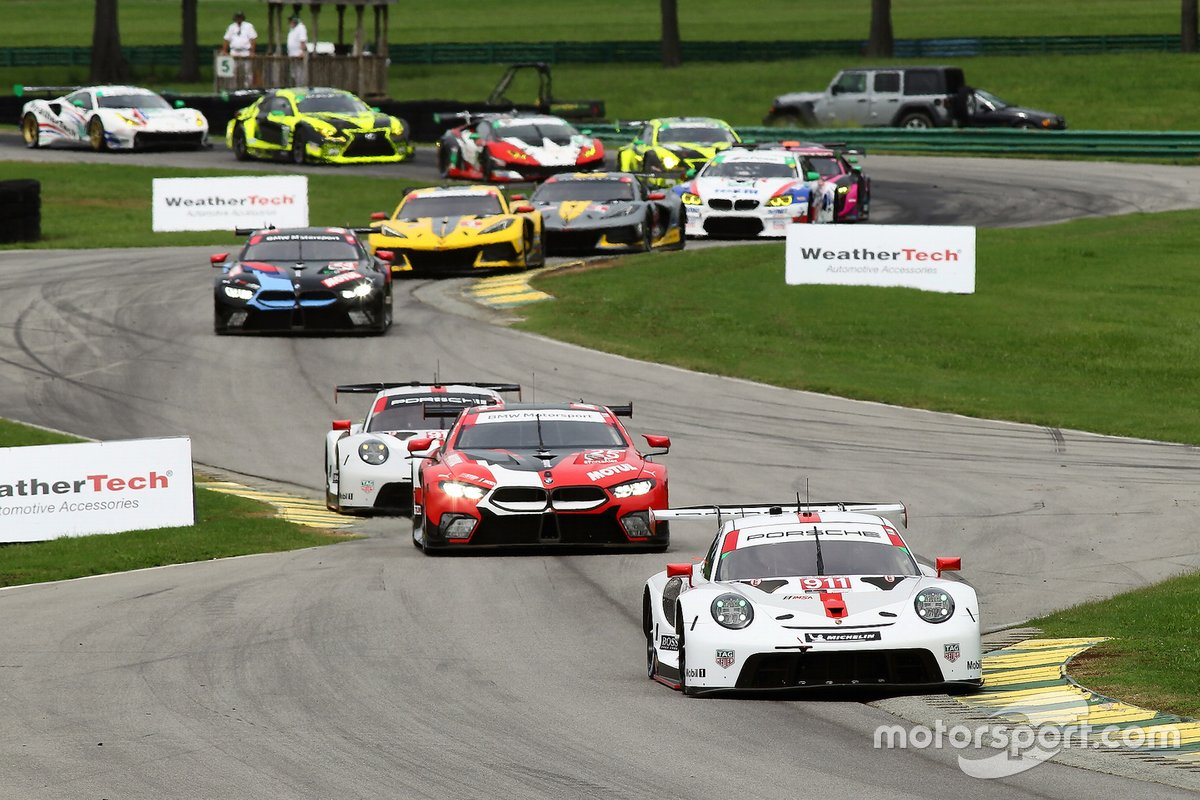 #911: Porsche GT Team Porsche 911 RSR - 19, GTLM: Nick Tandy, Fred Makowiecki
