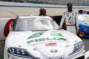 Harrison Burton, Joe Gibbs Racing, Toyota Supra Fields/DEX Imaging