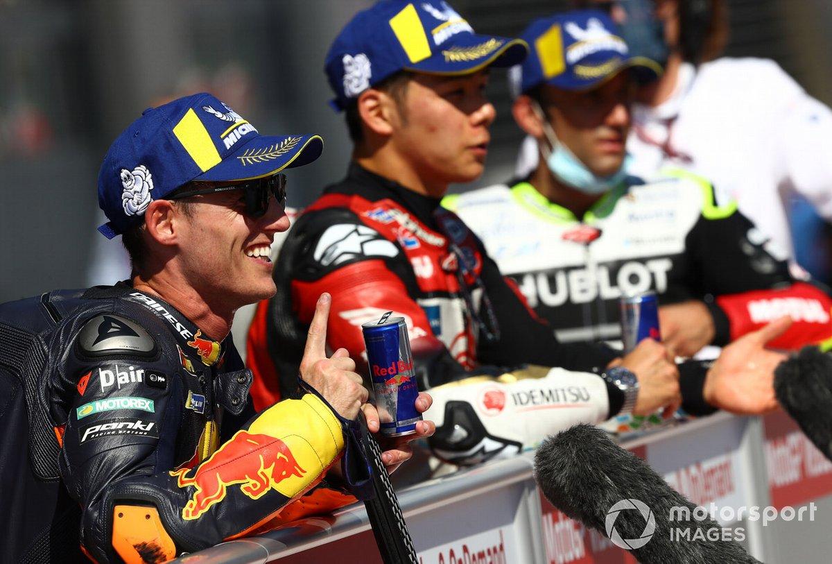 Ganador de la pole Pol Espargaró, Red Bull KTM Factory Racing