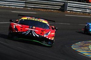 #52 AF Corse Ferrari 488 GTE EVO: Christoph Ulrich, Steffen Gorig, Alexander West
