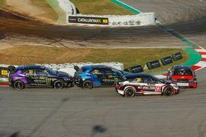 Rallycross-Action in Barcelona