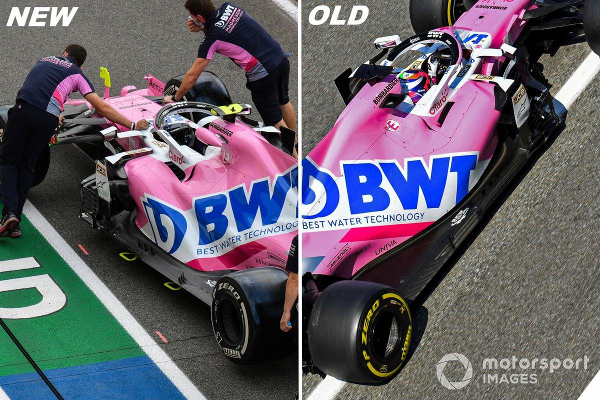 Comparación de Racing Point RP20