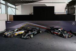 Mercedes AMG F1 Team W07 mit DTM und GT3 mercedes
