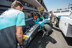 Nelson Piquet Jr., NEXTEV TCR Formula E Team nach dem Unfall