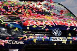 Winnende auto van Jari-Matti Latvala, Miikka Anttila, Volkswagen Polo WRC, Volkswagen Motorsport