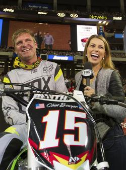 Clint Bowyer mit Jenny Taft