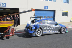 Crash, John Filippi, Campos Racing Chevrolet RML Cruze TC1