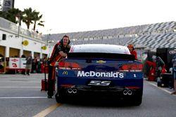 Das Fahrzeug von Jamie McMurray, Chip Ganassi Racing Chevrolet