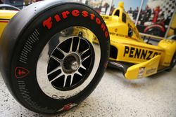 Helio Castroneves, Team Penske Chevrolet with the Pennzoil livery for the 100th Indy 500