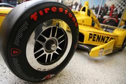 Helio Castroneves, Team Penske Chevrolet avec la livrée Pennzoil pour la 100e édition des 500 Miles d'Indianapolis