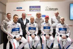 Marino Franchitti, Stefan Mücke, Andy Priaulx, Olivier Pla, Chip Ganassi Racing; George Howard-Chapp