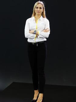 Carmen Jorda, Renault F1 Team Entwicklungsfahrer