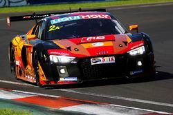#2 Phoenix Racing Audi R8 LMS: Markus Winkelhock, Laurens Vanthoor, Alex Davison